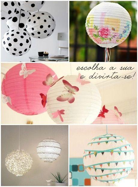 Decorando com lanternas japonesas | Minha casa, minha cara