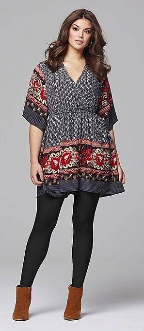 Plus Size Smock Dress Plus Size Fashion Pinterest Stitch