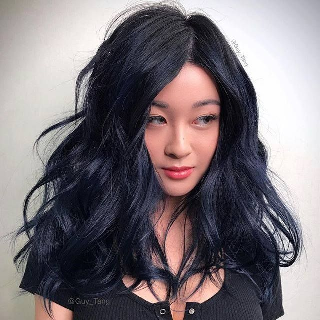 3mb midnight blue demi is great to create a blue black gloss over 3mb midnight blue demi is great to create a blue black gloss over previous highlights or used over dark hair for more depth or shine pmusecretfo Images