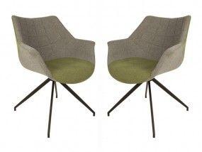 Grüne Küchenstühle ~ Doulton stühle stuhl set grau und grün grüne möbel