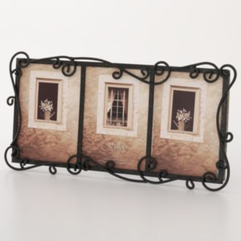 Fetco Linear 3 Opening Wrought Iron Collage Frame Decorating