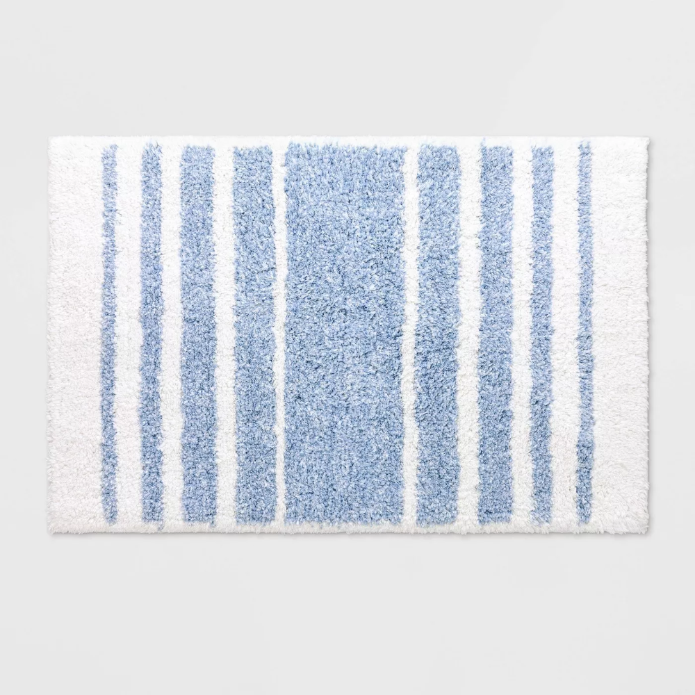 28++ Blue and white bathroom rug ideas in 2021
