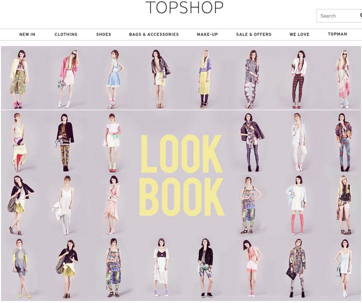 lookbook example - Google Search | layout | Pinterest