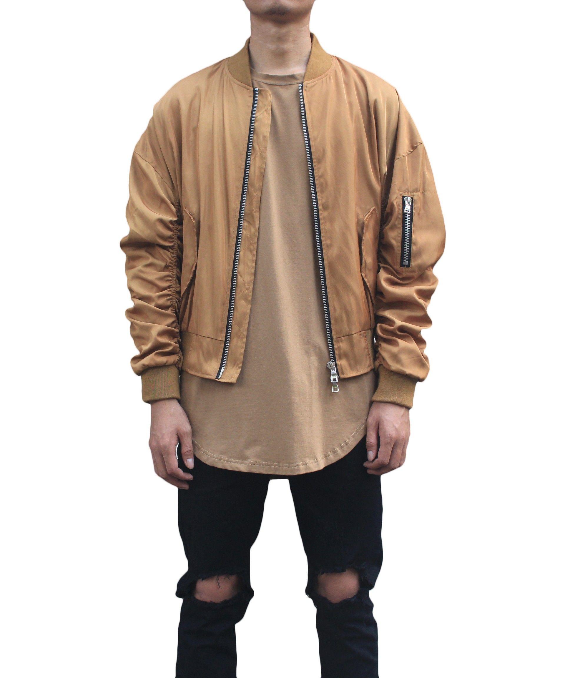 Oversized Bomber Jacket Gold Jackets Men Fashion Oversized Bomber Jacket Jackets [ 2304 x 1920 Pixel ]