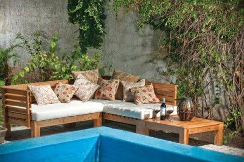 Mobiliario diferente para tu jardn o terraza  Muebles