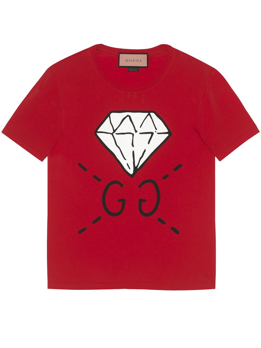 98d5cce5 GucciGhost GG Diamond t-shirt Gucci Tee, Gucci Sweatshirt, Gucci Shirts,  Gucci