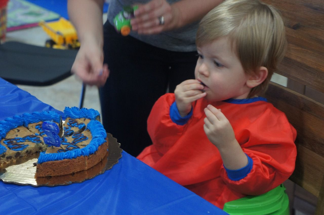 """Cookie Monster 2nd Birthday Party """"Cookie Cake"""" Publix"""