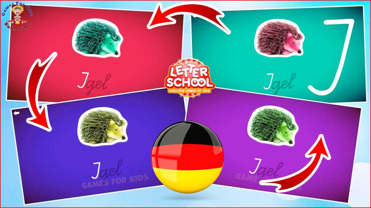 abc letterschool  schreiben sie die buchstaben in deutsch