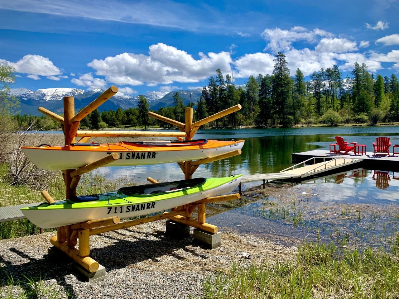 how to store a kayak at home