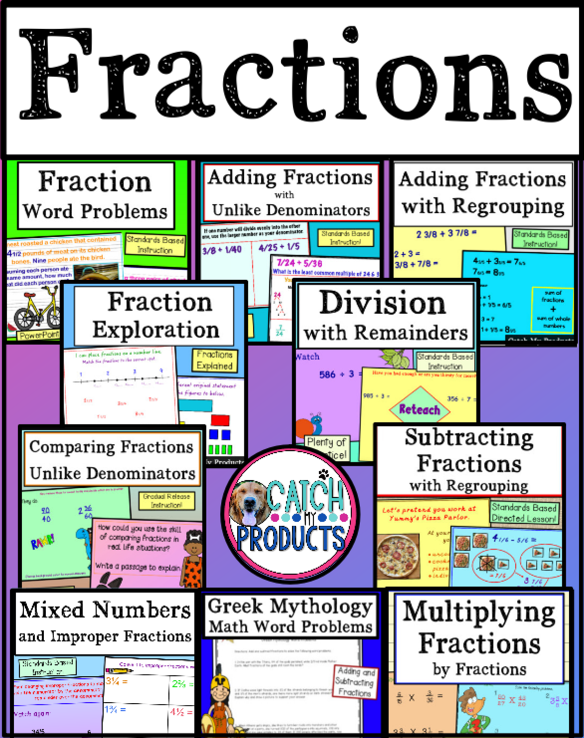 Fractions Addition And Subtraction Multiplication And