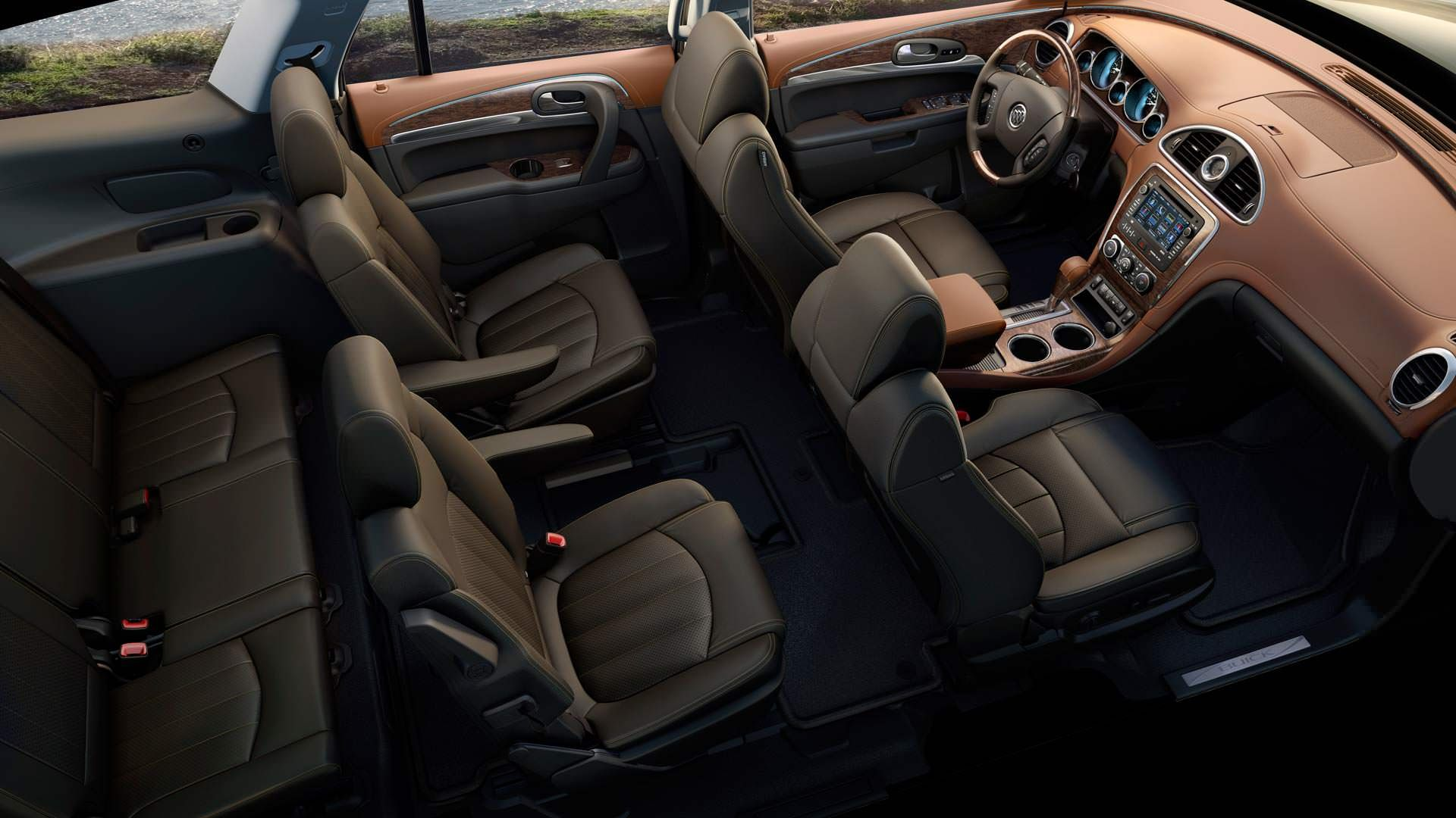 2014 Buick Enclave Luxury Crossover SUV | Interior Photos ...