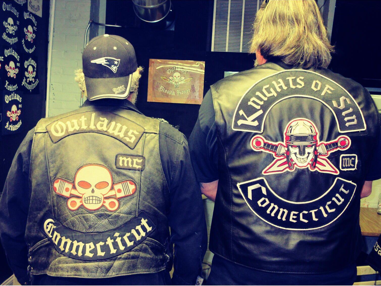 Outlaws Mc Connecticut Motorrad