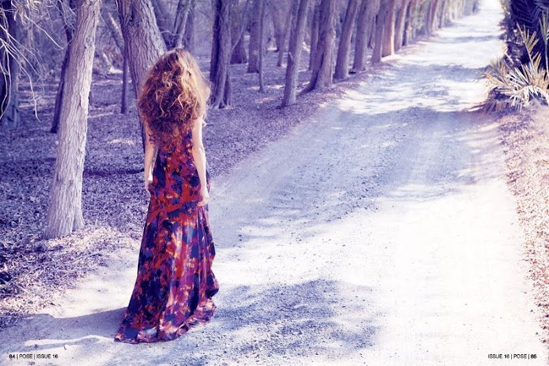 POSE Magazine, Dress: Erdem Photography: Mazen Abusrour Photographer Assistant: Ashee Mogral Styling: Lisa Strannesten   Makeup: Shindesu   Model: Rene Borisova, Bareface