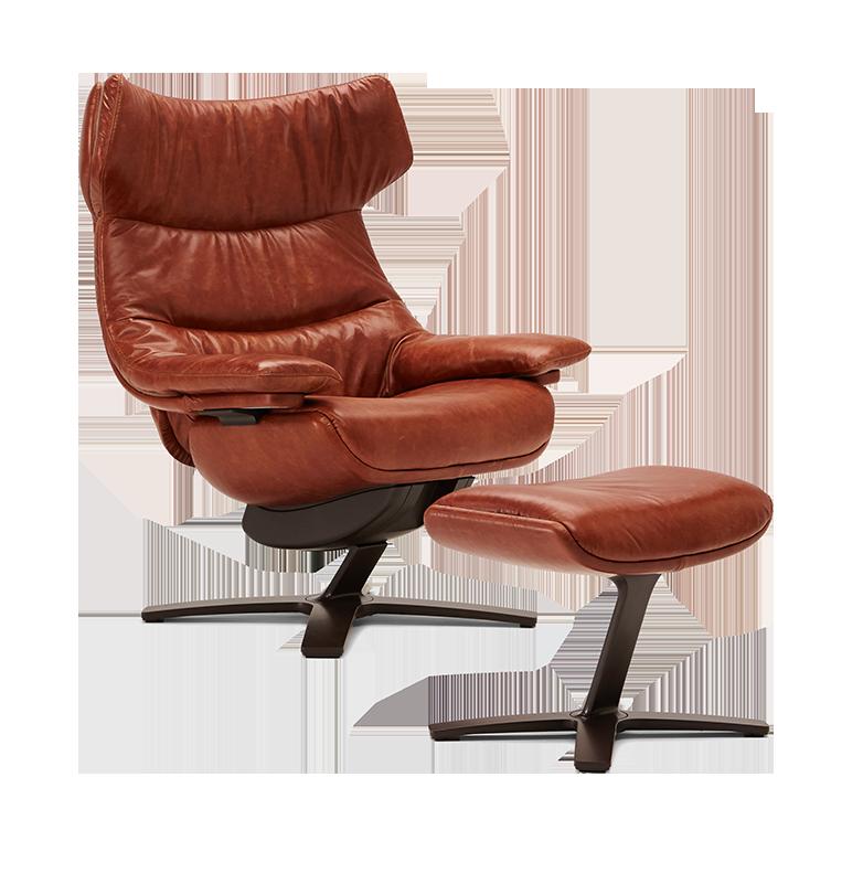 Re Vive Wing Back Natuzzi Italia Lounge Chair Natuzzi Eames Lounge Chair