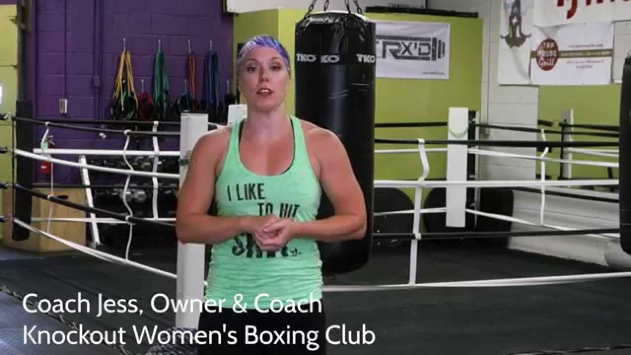 Controlling Your Punches Video By Coach Jessica Storch Women Boxing Boxing Club Knockout