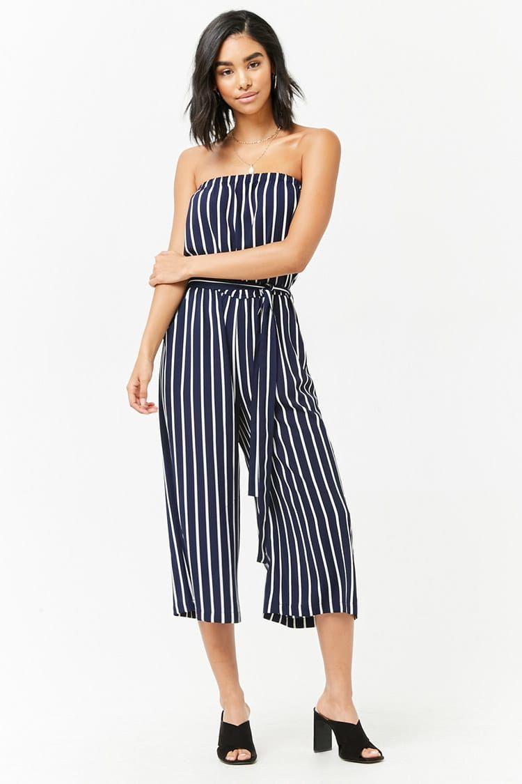 3a329c2269ef Product Name Striped Crepe Capri Jumpsuit