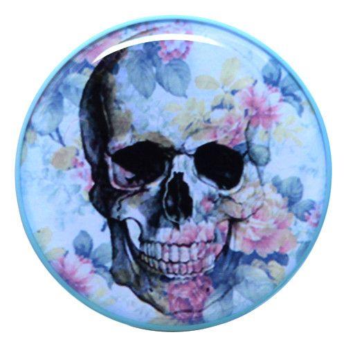 Fabulous Blue Skull Plug UK Custom Plugs Shop for gauges alternative fashion u body