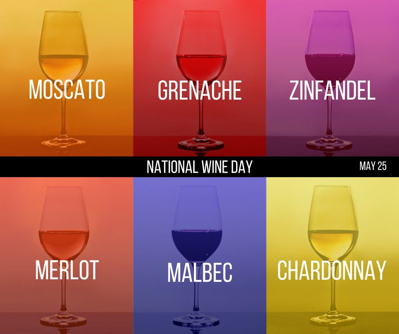 May 25 Nationalwineday What S Your Favorite Type Of Wine Wineday Moscato Types Of Wine Instagram Posts Drink Local