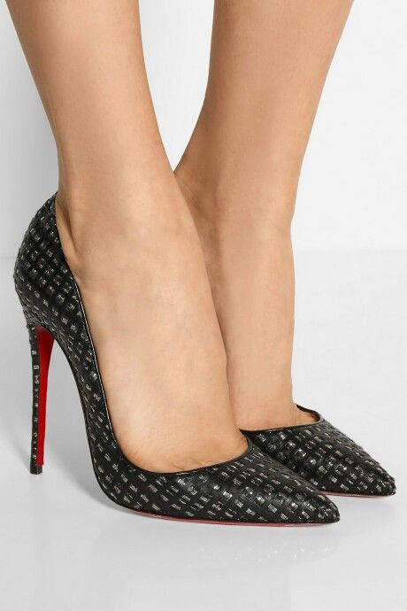 Christian Louboutin- So Kate Leather & Tweed...