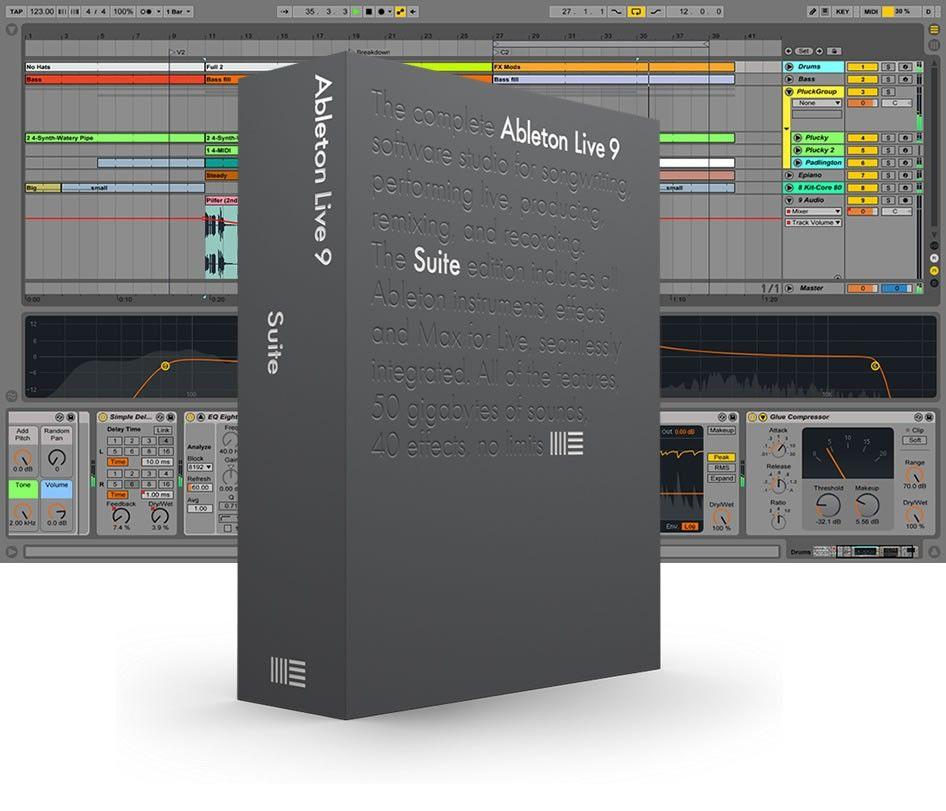 Ableton live 9 lite serial number