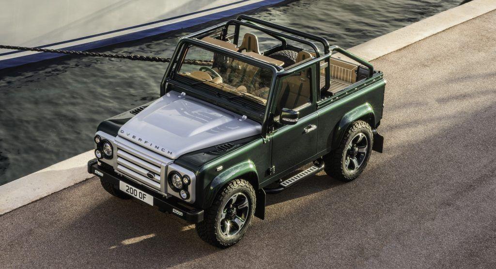 Overfinch Turns Land Rover Defender 90 Into $320k Bespoke Off-Roader