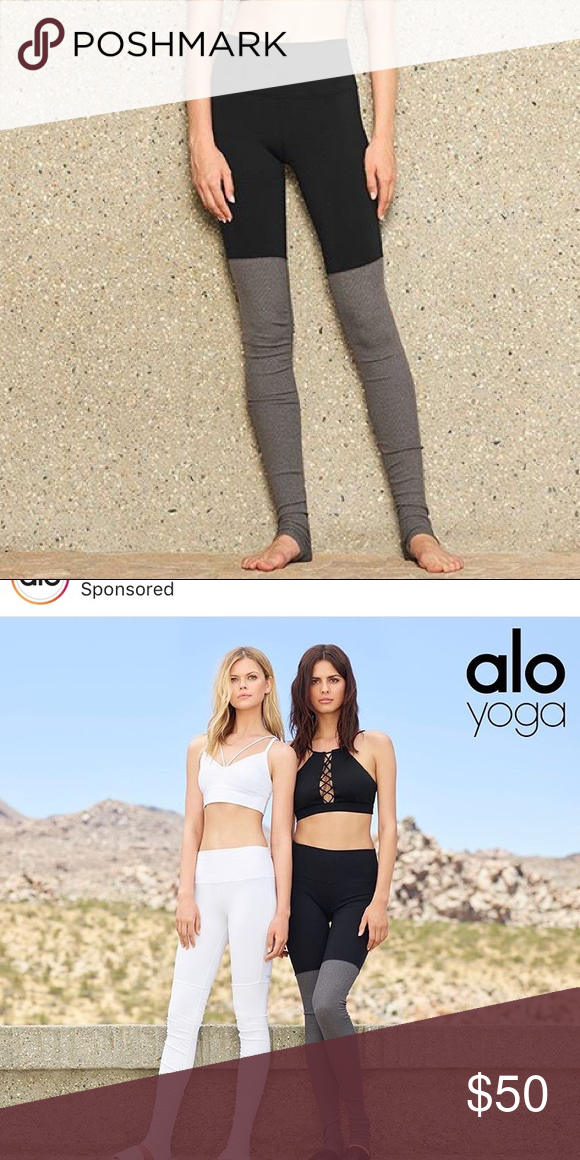 Alo yoga leggings Size small . Don't use them a lot. Will upload a pic when I get home. Make a reasonable offer. ALO Yoga Pants Leggings
