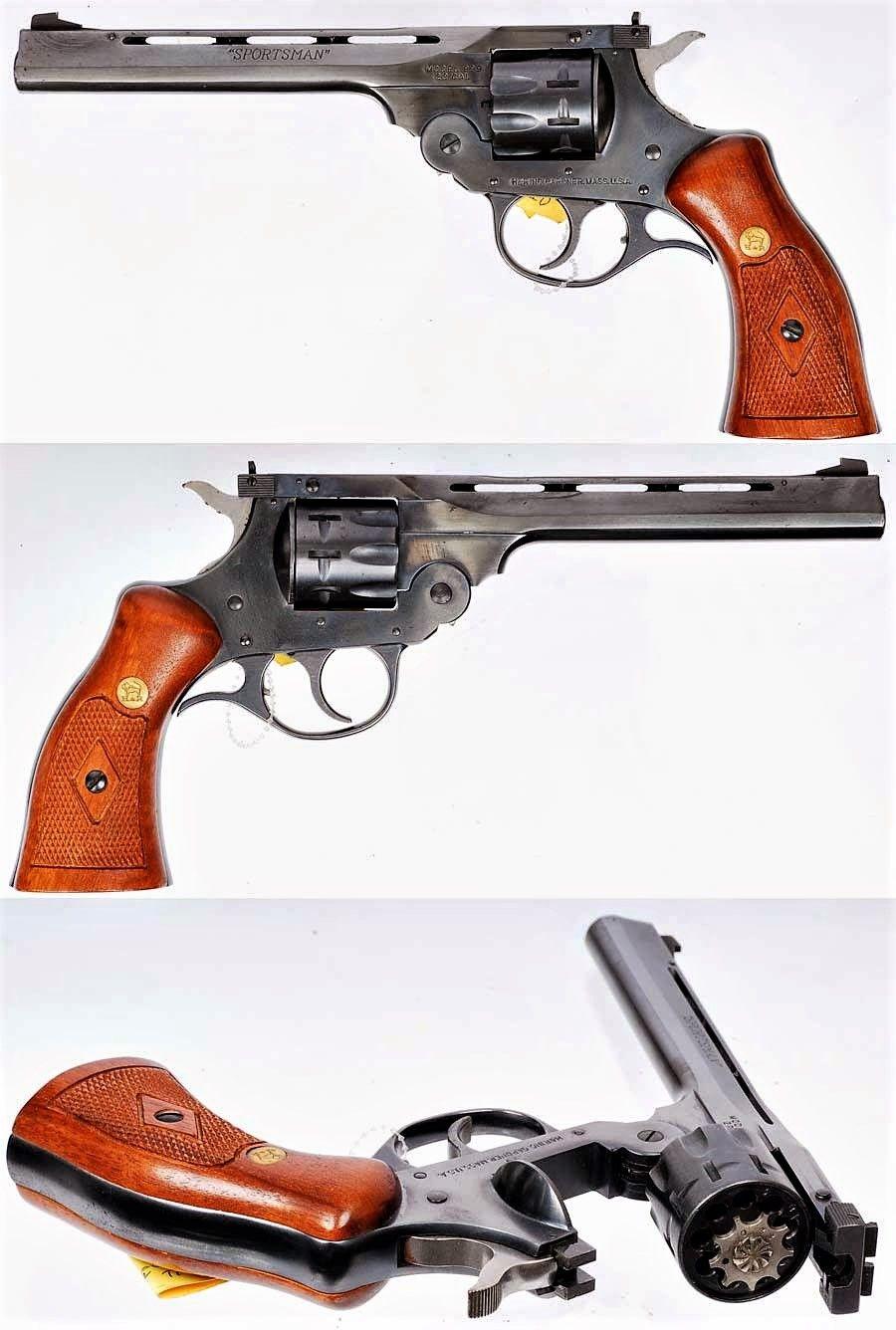 H&R 999 Sportsman - .22 9-Shot revolver | Pew Pew | Revolver pistol