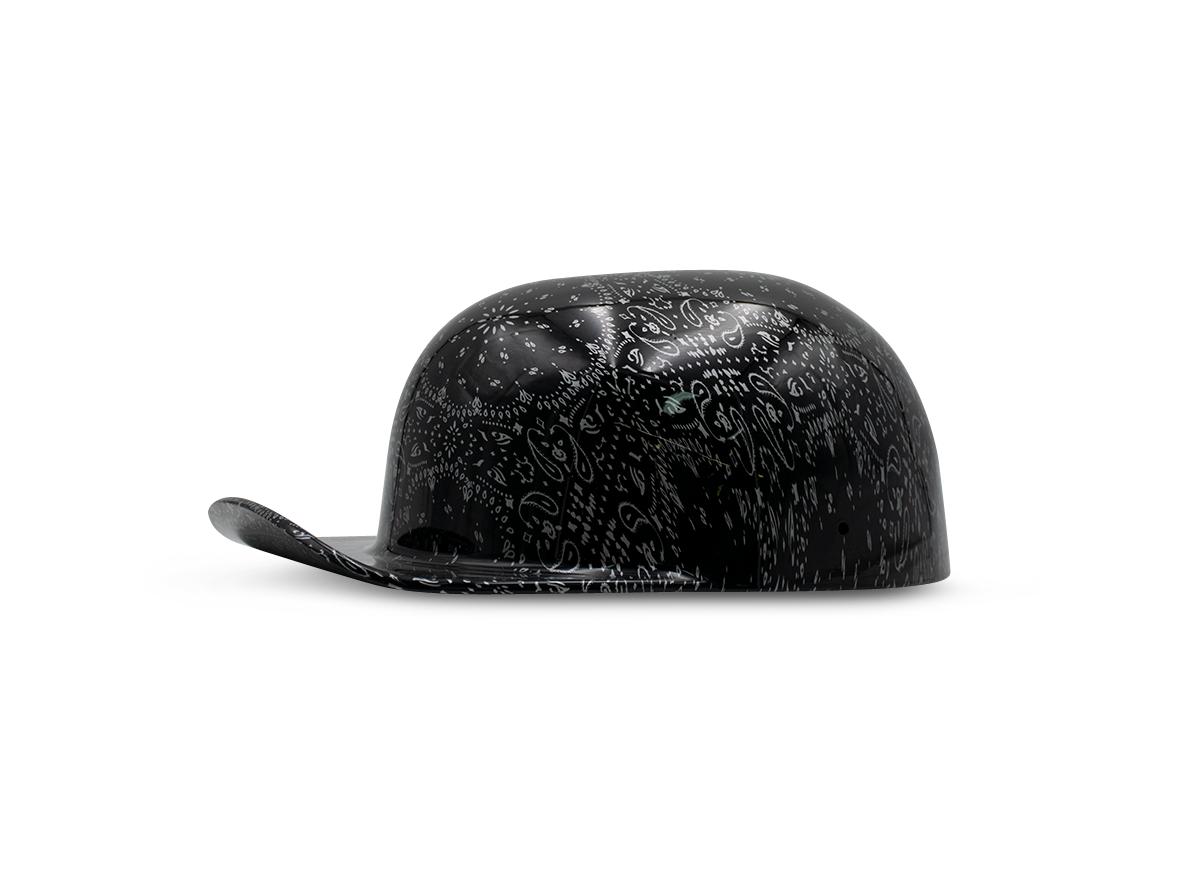 Black Bandana Doughboy In Stock Helmet Design Novelty Helmets Bandana