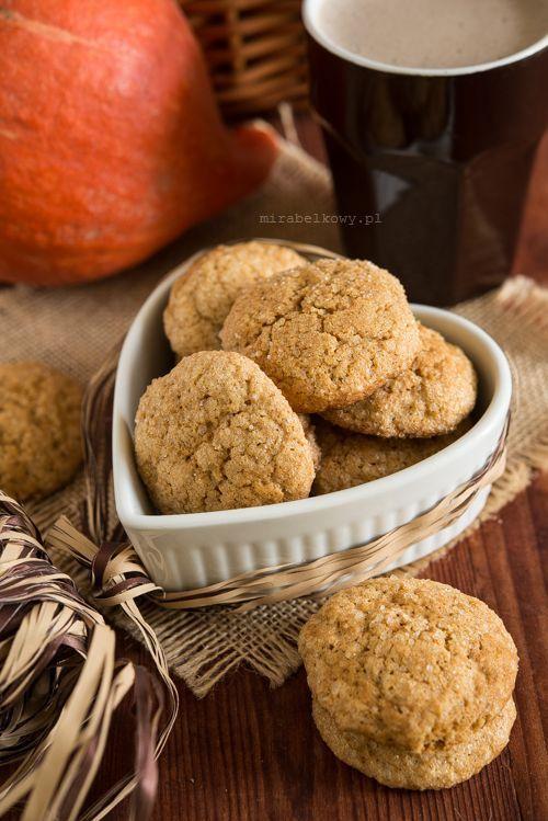 Ciasteczka dyniowo-imbirowe