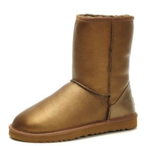 UGG Classic Short Metallic Gold UGG Boots Clearance $174.58 http://www.gotofashionhots