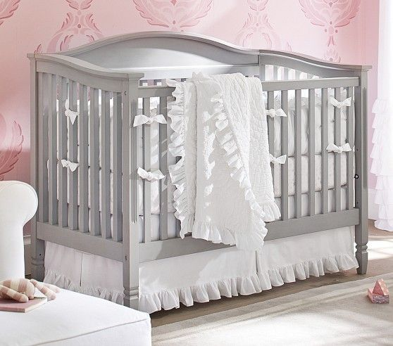 Madison Fixed Gate 3 In 1 Crib Baby Girl Room Themes