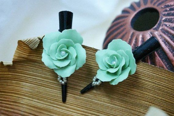 Miniature Polymer Clay Accessories Sophisticate by minihandmade