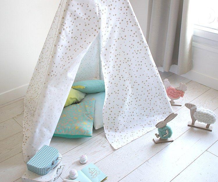 le tuto du tipi enfant patron tipi enfant enfant et couture enfant. Black Bedroom Furniture Sets. Home Design Ideas