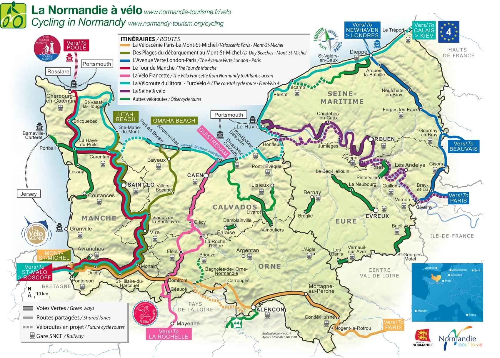 Normandie Tourisme Normandie Tourisme Carte Touristique Tourisme
