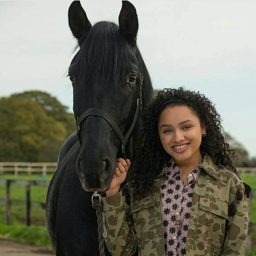 Zoe and Raven from Free Rein Season 2 | Free rein season 2, Free rein tv  show, Black horses