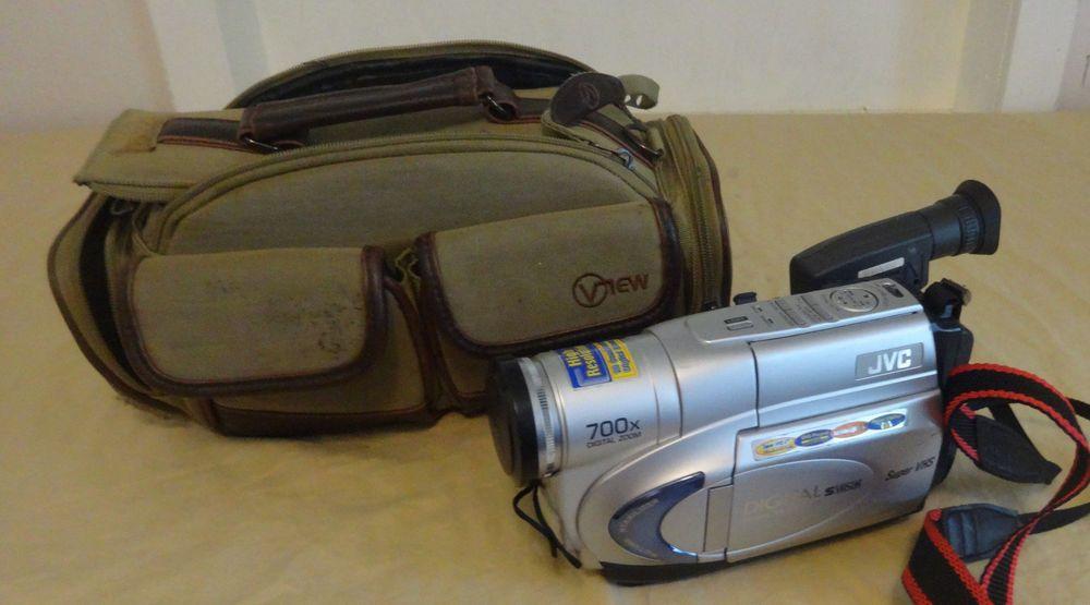 Jvc Gr Sxm260u Compact Vhs Camcorder With 700x Digital Zoom Jvc Jvc Camcorder Digital Zoom
