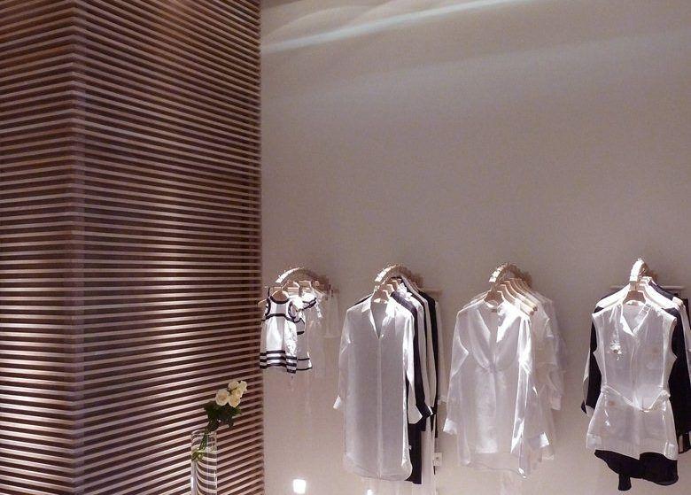 تصميمات ديكورات محلات مميزة ستعجبك بالتأكيد Basic Shower Curtain Commercial Design Home Appliances