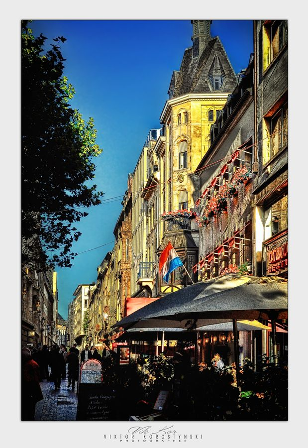 Luxembourg City (Luxembourg). 'No it's not just banks and
