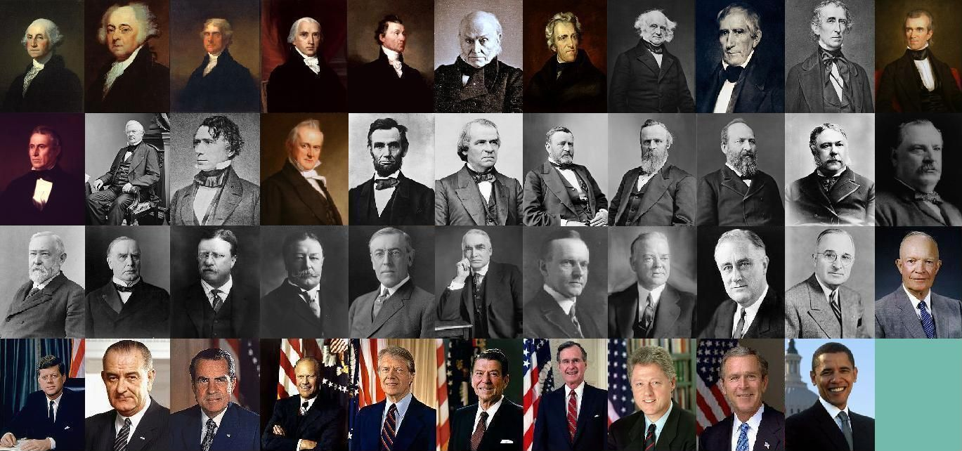 An overview of the history of american presidents