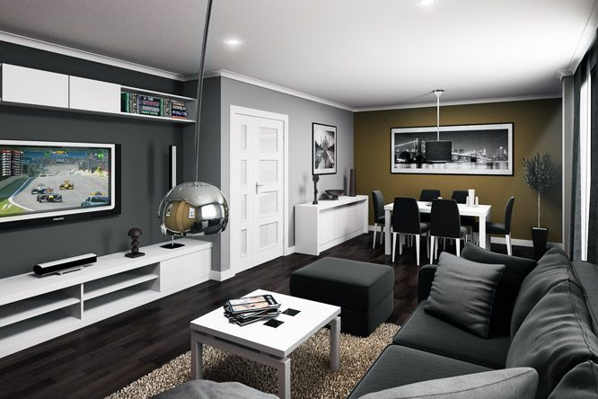 salon gris  Salas  Pinterest  Decoracin hogar Tapiz de pared y Salones