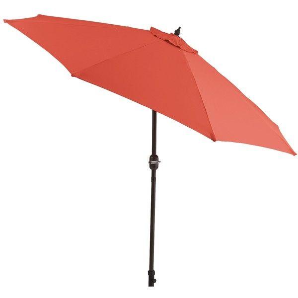 Etonnant Pier 1 Imports 9u0027 Chili Aluminum Tilting Umbrella ($170) ❤ Liked On Polyvore