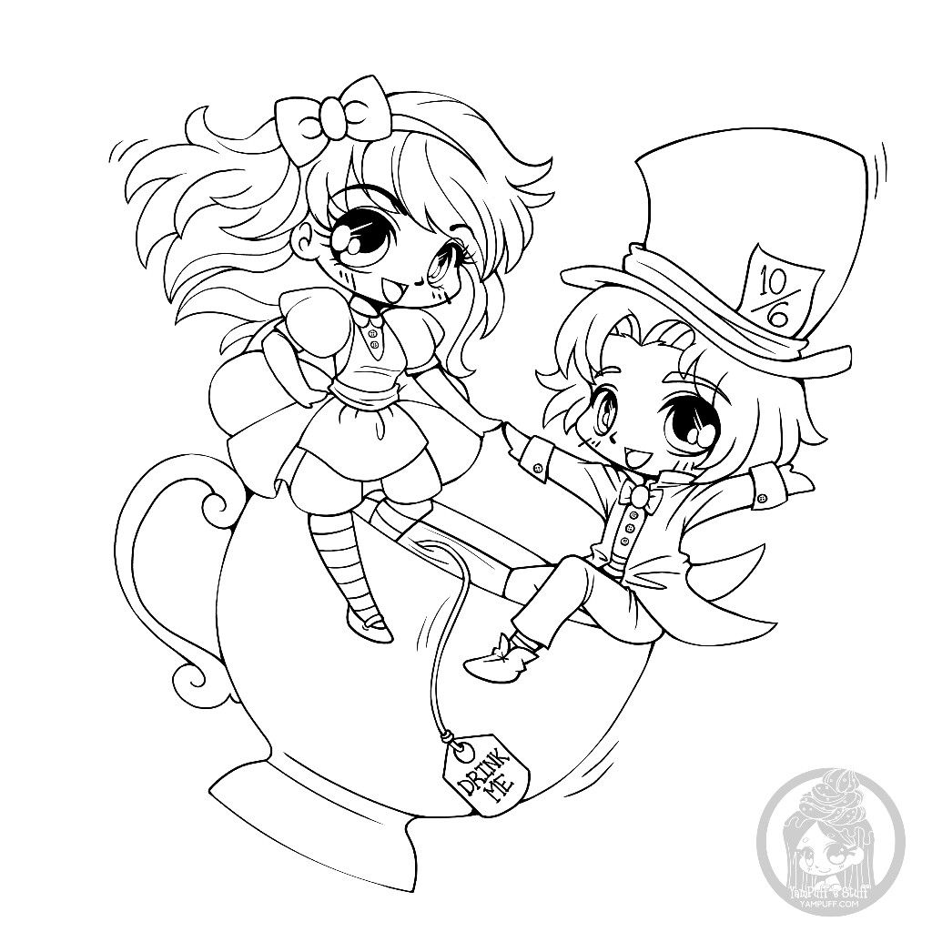 Pin By Svetlana Erickson On Yampuff S Stuff Kleurplaten Chibi Coloring Pages Coloring Pages Colouring Pages
