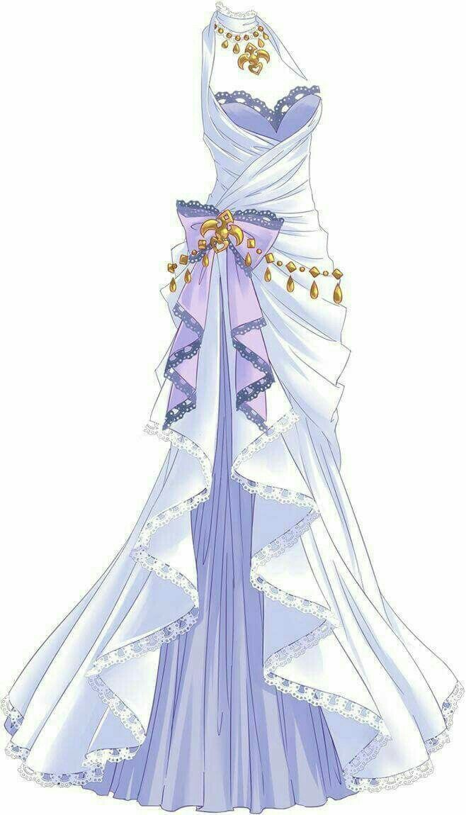 Pin By Makoto 312 On Bocetos Anime Dress Dress Sketches Dress