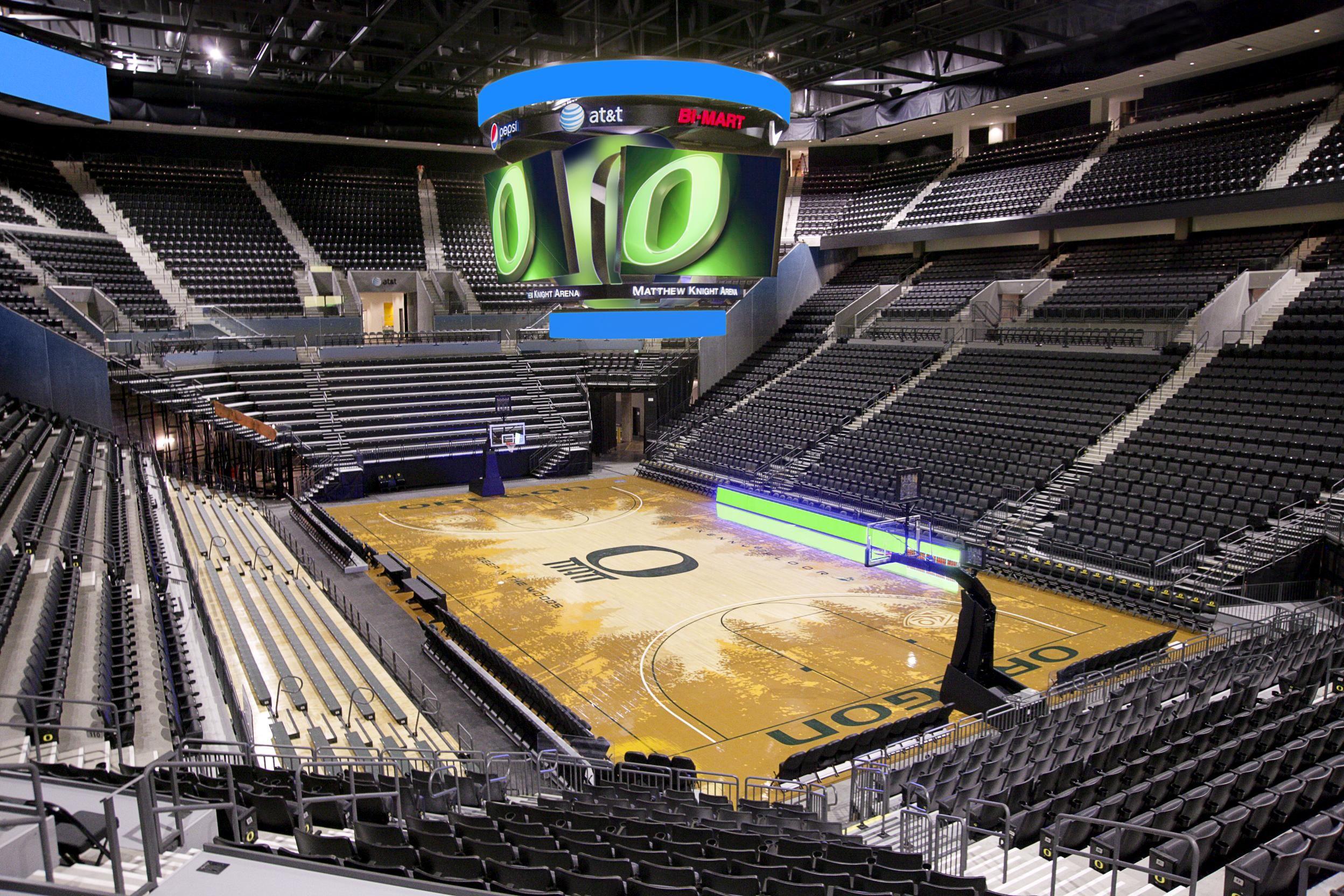 Matthew Knight Arena Eugene Oregon University Of Oregon Eugene