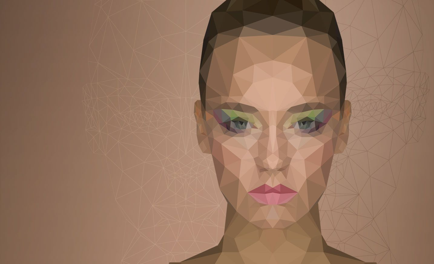 Low poly portrait fx ray geometric shapes pinterest low poly how to create low poly portrait effect in photoshop ap baditri Choice Image
