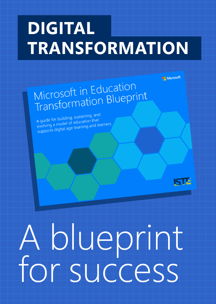 Support your vision for a digital classroom with the microsoft support your vision for a digital classroom with the microsoft transformation blueprint malvernweather Choice Image