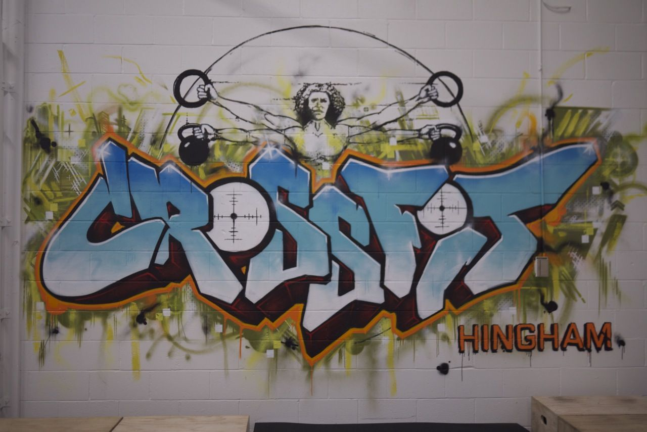 gym mural - Google Search | Fitness Mural | Pinterest ...