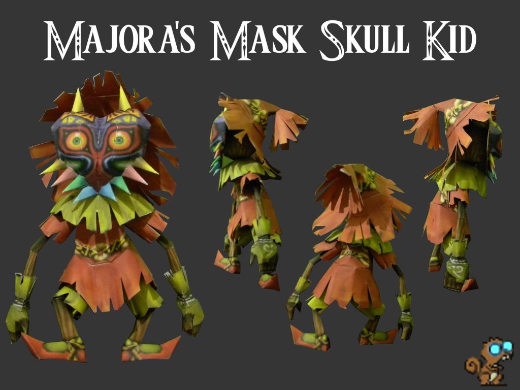 Skull Kid costume HAT Legend of Zelda Majora's Mask by ryookiarts ...