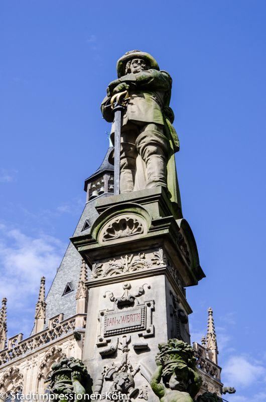 Jan Von Werth Denkmal Auf Dem Alter Markt Koln Cologne Germany Cologne Sightseeing