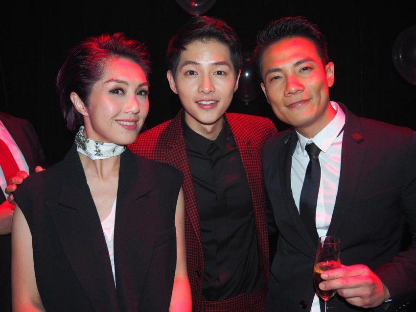 Song Joong Ki   Dior Homme Fashion Show Canción De Joong Ki, Incheon, Hong 98995ee39930